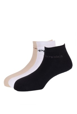 Hush Puppies Men's Solid Low Cut Socks