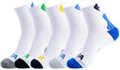 NBA Men's Striped Ankle Length Socks