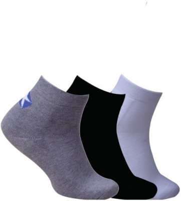 Cottstrings Men's Solid Ankle Length Socks