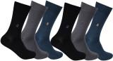 Goyal Knitting Men's Solid Mid-calf Leng...