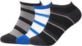 Royal Men's Striped Ankle Length Socks