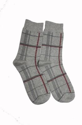 69th Avenue Men's Checkered Mid-calf Length Socks