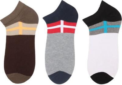 Klair Men's Self Design Low Cut Socks
