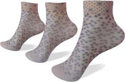 Rege Womens Animal Print Ankle Length Socks