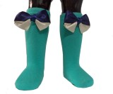 Portia Girls Over-the-Calf Length Socks