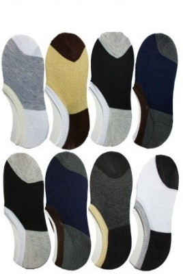 Killys Men's Solid No Show Socks