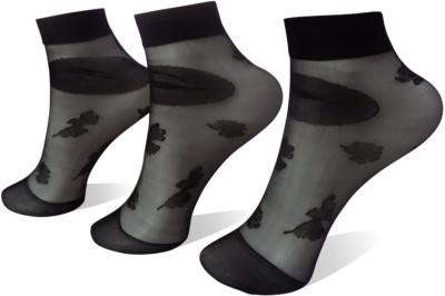 Rege Women's Printed Ankle Length Socks(Pack of 3) at flipkart