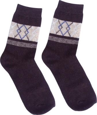 Happiesta Men's Printed Ankle Length Socks