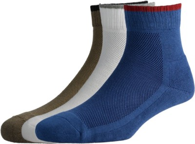 Allen Solly Men's Solid Ankle Length Socks