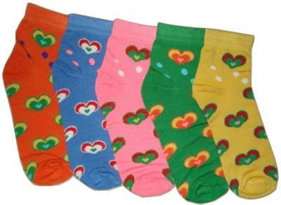 Well Wear Women,s Printed Ankle Length Socks