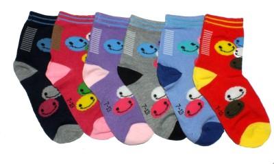 Gen Boy's Printed Ankle Length Socks