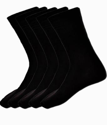 Alfa Fun Baby Boys Solid Mid-calf Length Socks(Pack of 5)