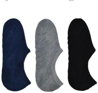 Autonation Men's Solid No Show Socks