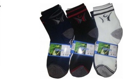 Autonation Men's Solid Ankle Length Socks