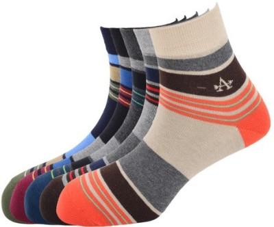 Arrow Men's Striped Crew Length Socks