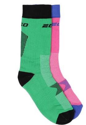 2Go Women's Solid Over-the-Calf Length Socks at flipkart