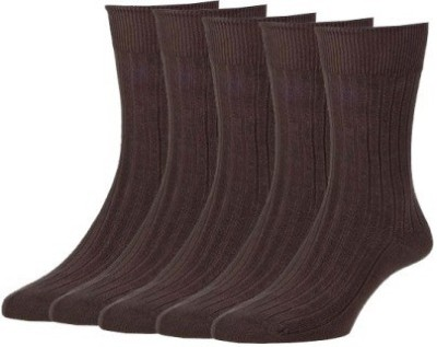 Simon Premium Men's Striped Ankle Length Socks