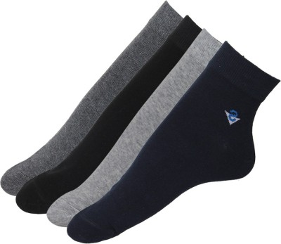 Stellen Men's Solid Ankle Length Socks