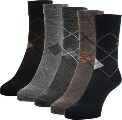 Sir Michele Men's Crew Length Socks