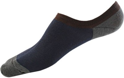 Feather Leather Men's No Show Socks