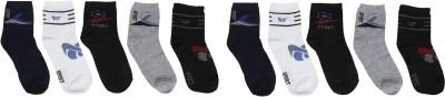 ZACHARIAS Men's Printed Ankle Length Socks