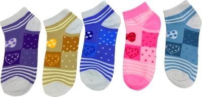 Gayatri Creations Girls Ankle Length Socks