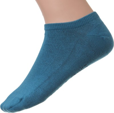 Jack & Jones Men's Solid Ankle Length Socks