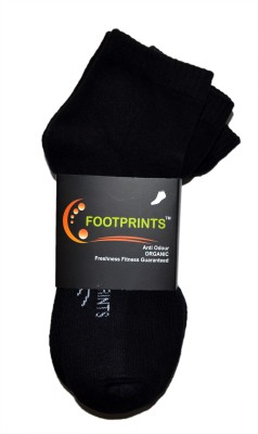 Footprints Men's Ankle Length Socks