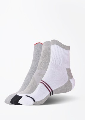 Peter England Mens Solid Quarter Length Socks