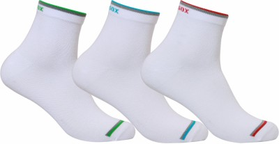Supersox Mens Striped Ankle Length Socks(Pack of 3)