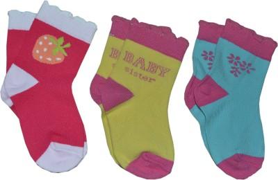 G.G Engineers Baby Girl's Ankle Length Socks