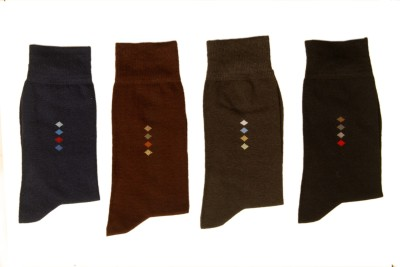 GENTLE Men's Crew Length Socks