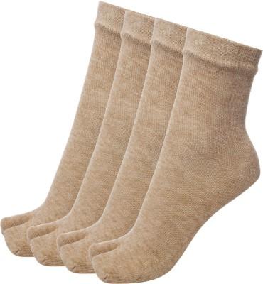 Simon Women's Solid Crew Length Socks