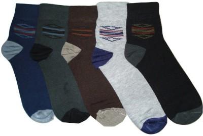 Well Wear Men,s Woven Ankle Length Socks