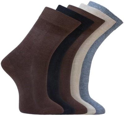 Crystal Premium Men,s Self Design Mid-calf Length Socks