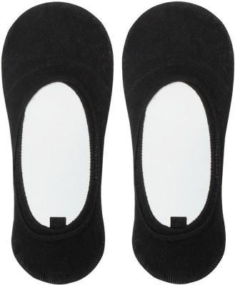 Auraa Men's Solid No Show Socks