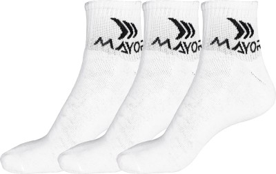 Mayor Men's Crew Length Socks