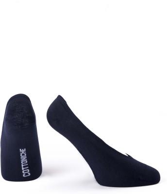 Cottoniche Mask Men's Solid No Show Socks