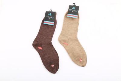 Woolex Women's Self Design Crew Length Socks