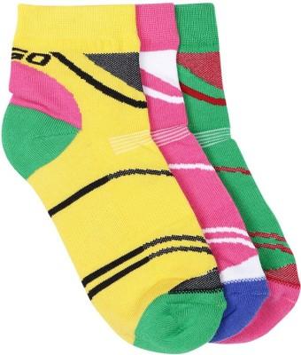 2Go Women's Solid Ankle Length Socks at flipkart