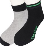 Moo Men's Solid Ankle Length Socks (Pack...