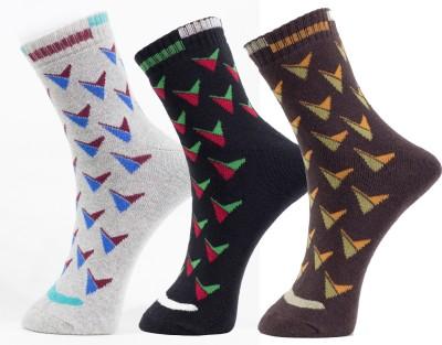 tadd Men's Solid Ankle Length Socks