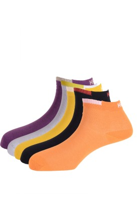 Hush Puppies Women's Solid Ankle Length Socks
