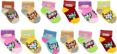 Ole Baby Baby Boy's Woven Ankle Length Socks
