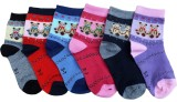Gen Boys Printed Ankle Length Socks (Pac...