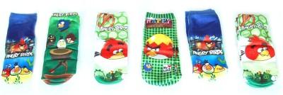 ANAHI Boy's Crew Length Socks