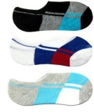 Cotson Men's Self Design No Show Socks