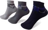 Rege Men's Striped Ankle Length Socks (P...