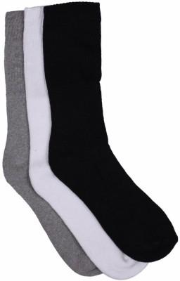 Marc Mens Self Design Crew Length Socks