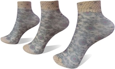 Rege Womens Printed Ankle Length Socks